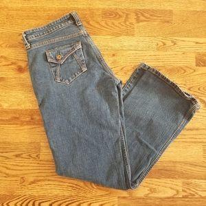 Levi's Mom Jeans Angled Pockets Wide Leg